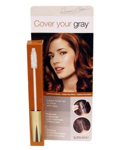 COVER GRAY HAIR MASCARA LT BR