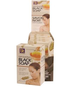 DR SOAP EXFOLIAT BLACK [6PC/D