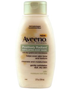 AVEENO PR EXFOLIAT BODY WASH