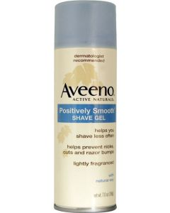 Aveeno Positively Smooth Shaving Gel