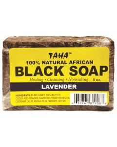 TAHA BLACK SOAP [LAVENDER]