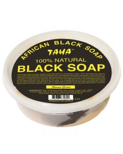 TAHA BLACK SOAP [LEMON GR] TU