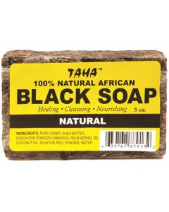 TAHA BLACK SOAP [NATURAL]