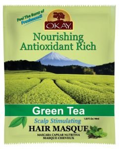 OKAY GREEN TEA LEAVE-IN 12/DP
