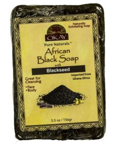 OKAY BLACK SOAP BLACK SEED