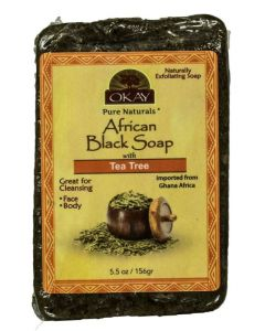 OKAY BLACK SOAP TEA TREE