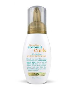 OGX Quenching Coconut Curls Curling Frizz-Defying Moisture Mousse