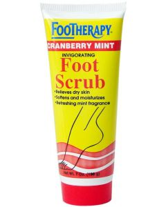 QH FOOTHERAPY F/SCRUB CRANBERY
