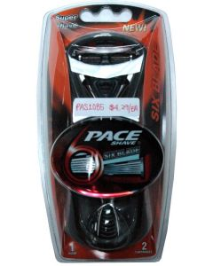PACE 6 BLADE SHAVING SYSTEM F