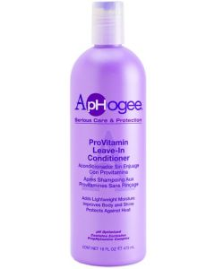 ApHogee Pro-Vitamin Leave-In Conditioner, 16 oz