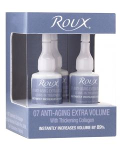 Roux 07 Anti-Aging Extra Volume Leave-In Treatment 3-Pack