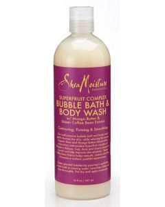 Shea Moisture Superfruit Complex Bubble Bath & Body Wash