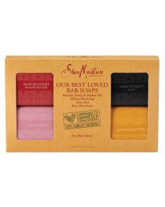 Shea Moisture Assorted Bar Soap 4-Pack