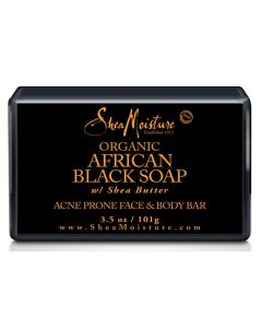 Shea Moisture African Black Soap Acne Prone Face & Body Bar