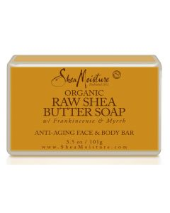 Shea Moisture Organic Raw Shea Butter Soap with Frankincense & Myrrh