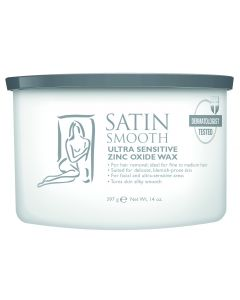 SATIN SMOOTH WAX ZINC OXIDE