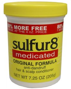 SULFUR-8 HAIR/SCALP [ORG] BNS