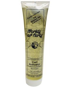 Worlds Of Curls Gel Activator [Extra Dry]   Tube