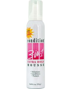 Condition 3 In 1 Mousse [Extra Hold]