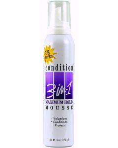 Condition 3 In 1 Mousse [Maximum Hold]
