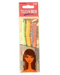 TOUCHN BROW E/BROW RAZOR 3CT