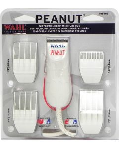 Wahl Peanut Professional Clipper Trimmer, White
