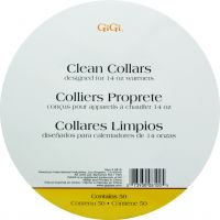 Gigi Warmer Clean Collars 50ct