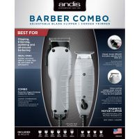 Andis Barber Clipper/Trimmer Combo