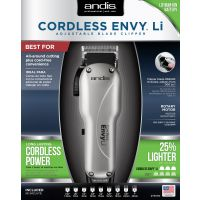 ANDIS CLIPPER ENVY LI CORDLESS