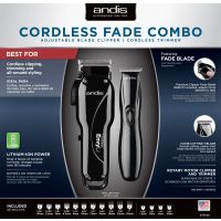 ANDIS FADE COMBO LCL/D8