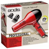 ANDIS DRYER PRO BLACK/RED