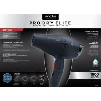 Andis Pro Elite DC Dryer, Black