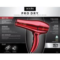 Andis Pro Dry DC Dryer, Red