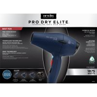 Andis Pro Elite DC Dryer, Blue