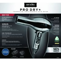 Andis Dryer Pro Dry+ Chrome