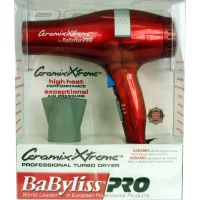 Babyliss Ceramix Xtr Dryer Red