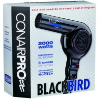 Conair Dryer Black Bird