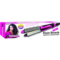 J2 H/t Flat/curl Iron W/brush