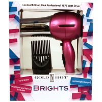 Gold N Hot Dryer Brights Pink