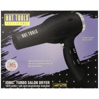 HOT TOOL DRYER IONIC TURBO BLK
