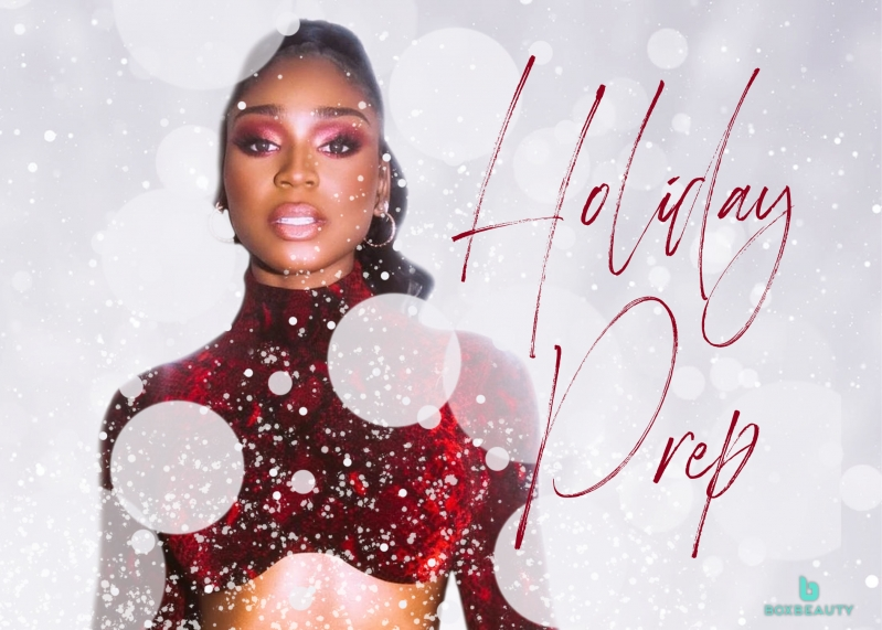 Holiday Prep: Normani's Lingerie Holiday Campaign