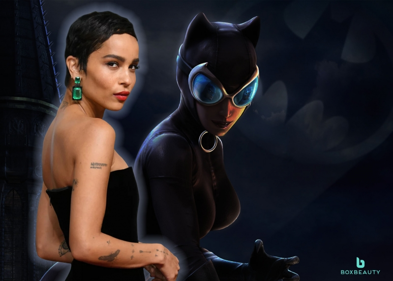 Purrfect Casting: Zoe Kravitz Is Your New Catwoman