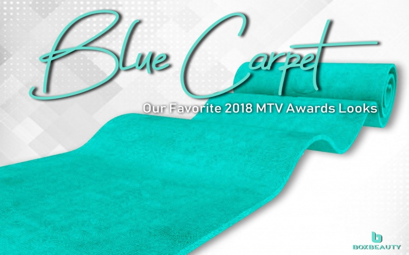 Blue Carpet: MTV Awards 2018