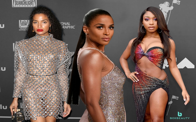 Indya Moore, Ciara, and Normani Share a Cornrow Moment During New York Fashion Week