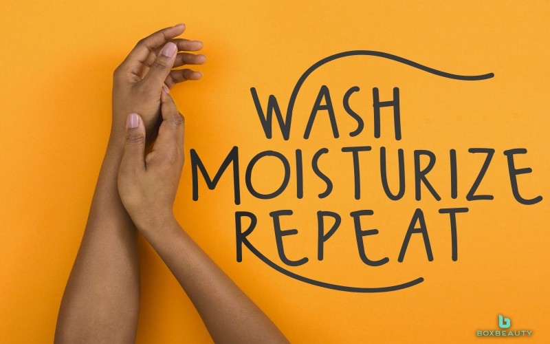 Wash Moisturize Repeat