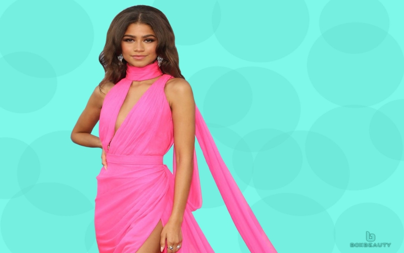 Zendaya Designed Her Own Dress for the Lancome Launch Party