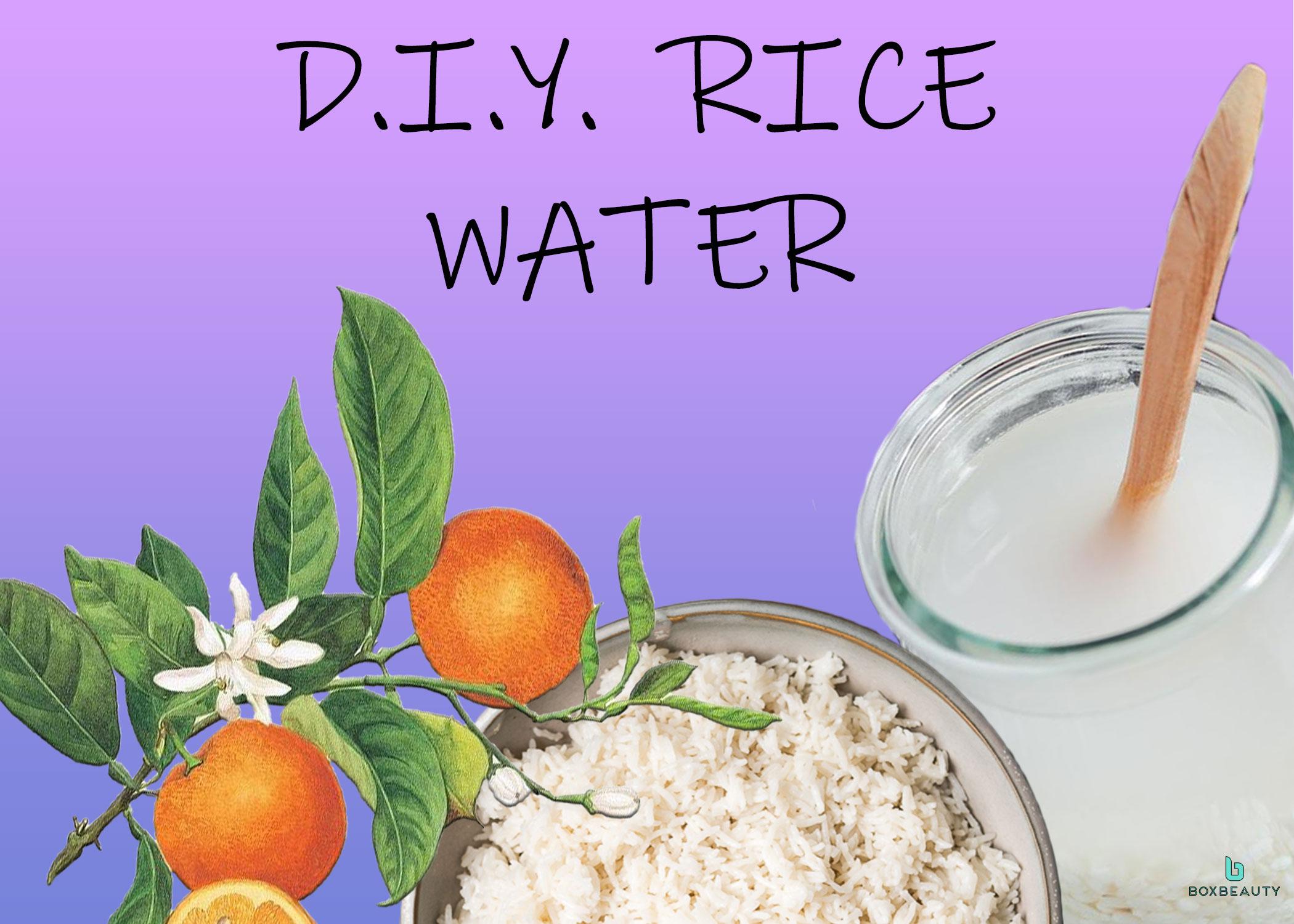 DIY Rice Water