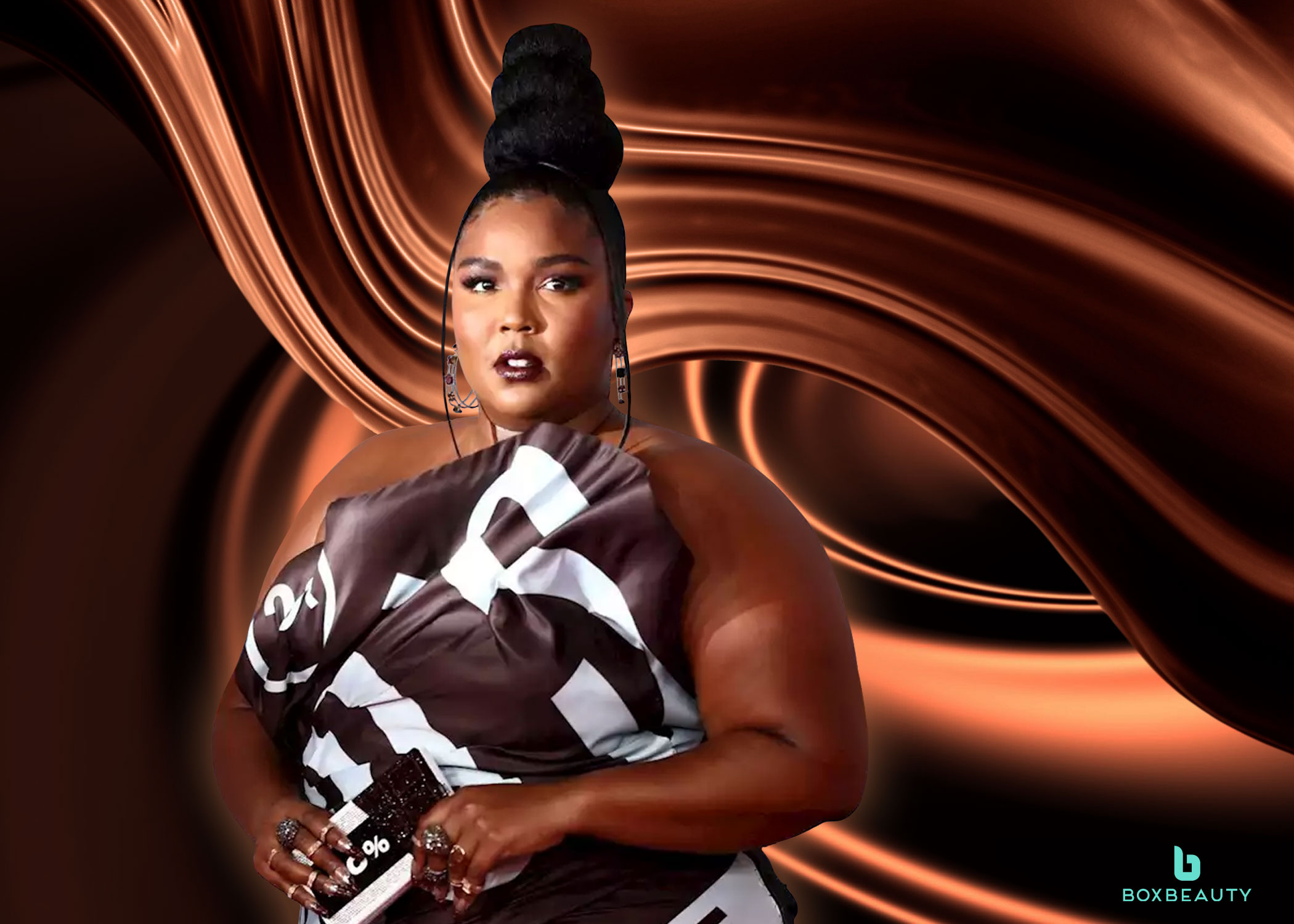 Buns & Chocolate: Lizzo's Brit Awards Red Carpet Look