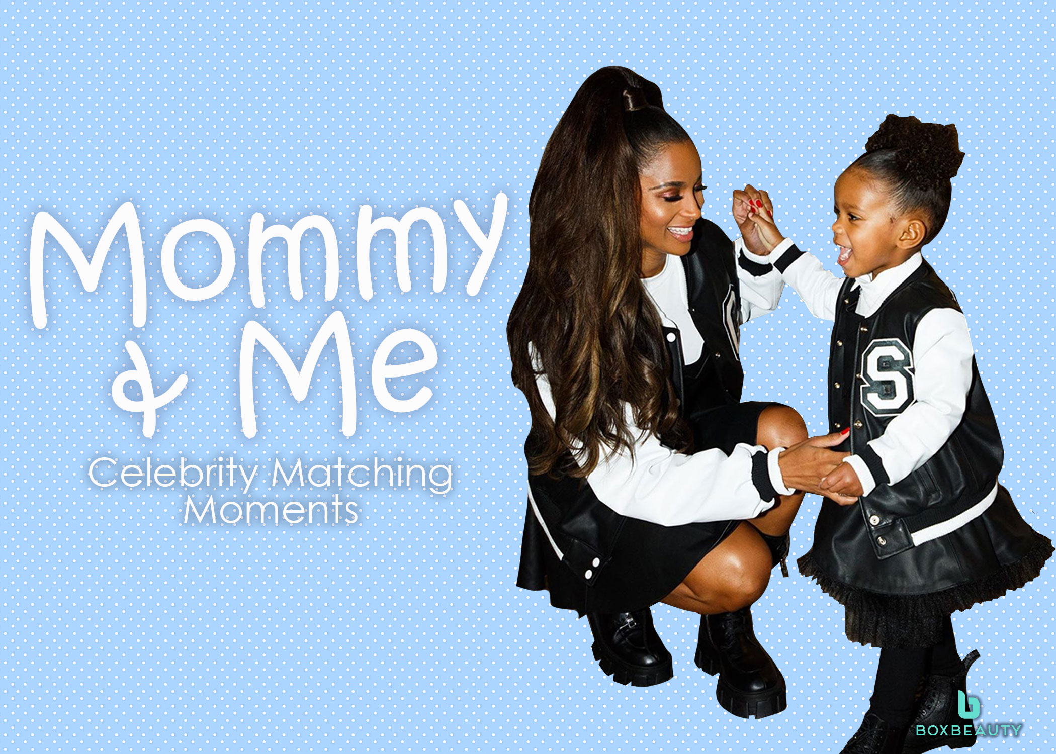 Mommy & Me: Celebrity Matching Moments